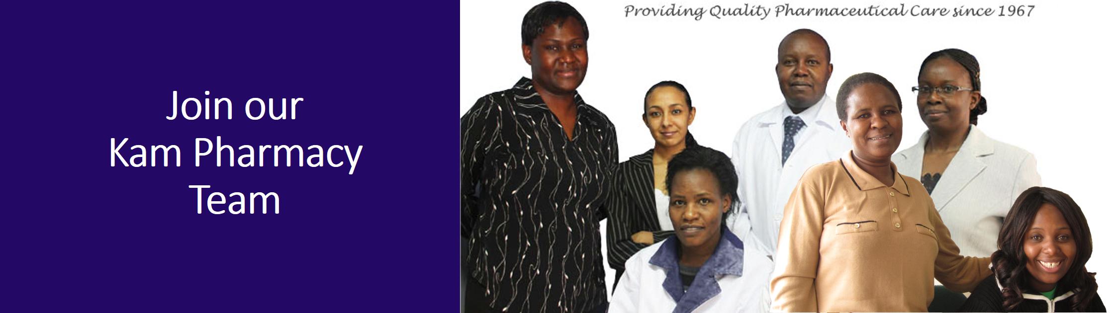 Join our Kam Pharmacy Team